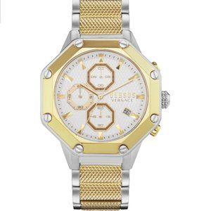 Versace Versus 45mm White Enamel Dial Watch
